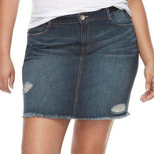 Rewash Jean Skirt